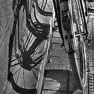 bike shadow by Katherine Maguire