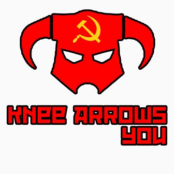 Soviet Knees Have Arrows... by Foxxzee