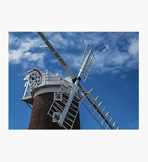 The windmill at Cley Photographic Print