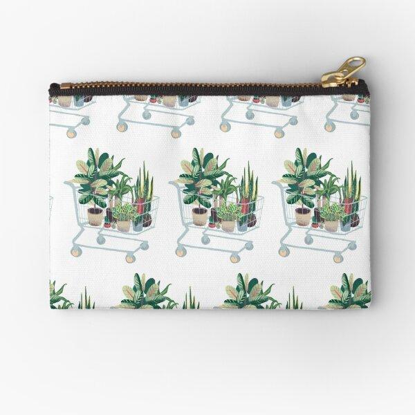 Plant friends Zipper Pouch