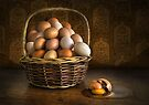 Don't put all your eggs  ..................... by Heather Prince