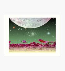 Alien World 1 Art Print