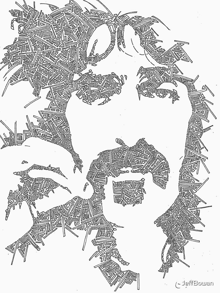 Frank Zappa Garabato | Unisex T-Shirt