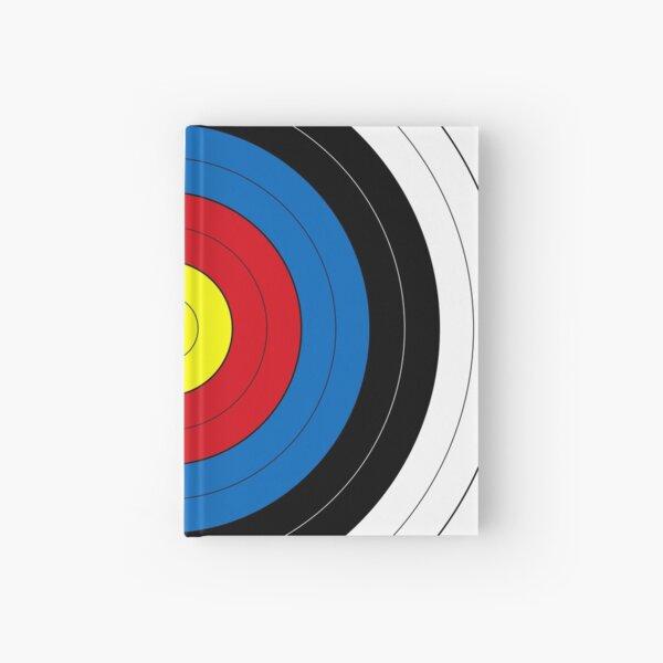 Archery Target   Target Face Hardcover Journal