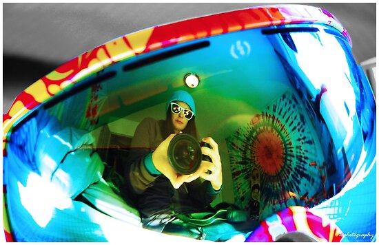 Goggle Reflection by elizacornish