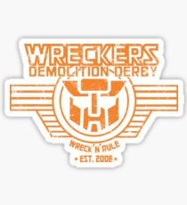 Wreck 'n' Rule Sticker