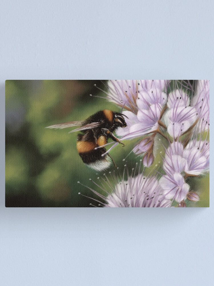 Alternate view of Bumblebee Canvas Print