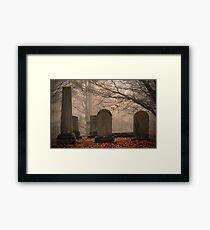 Old Gray Cemetery-1933 Framed Print