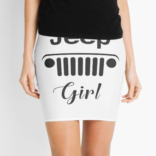 Jeep girl | Fancy off road 4x4 lover gift  Mini Skirt