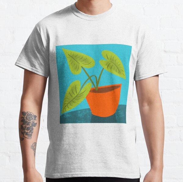 Seedlings on Aqua Classic T-Shirt