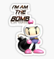 Bomberman: I'm am the BOMB Sticker