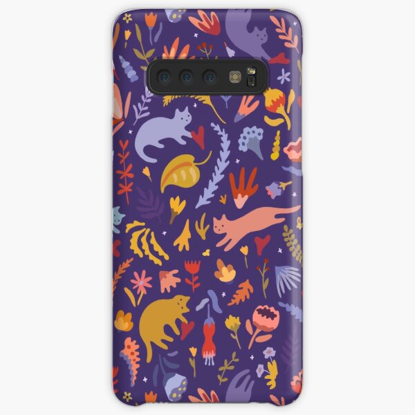Candy Cats in the Magic Garden Samsung Galaxy Snap Case