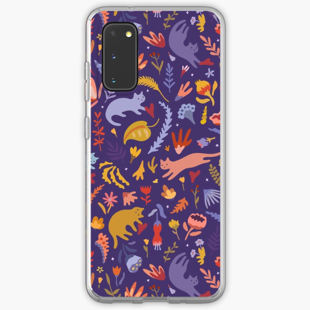 Candy Cats in the Magic Garden Case & Skin for Samsung Galaxy