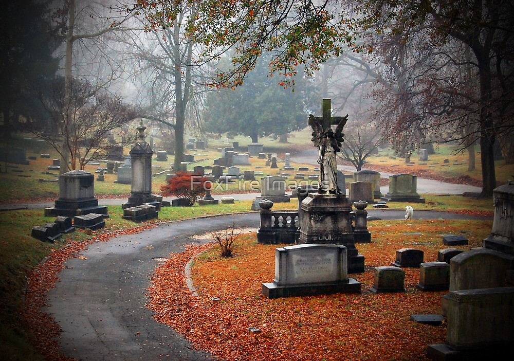 Old Gray Cemetery-1946 by FoxFire Images