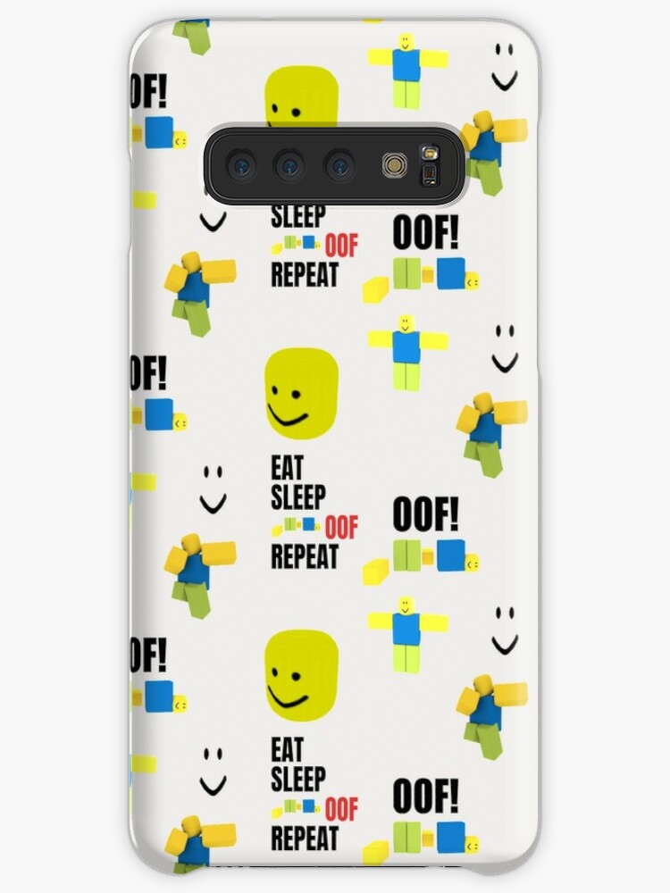 Roblox Oof Noobs Memes Sticker Pack Case Skin For Samsung