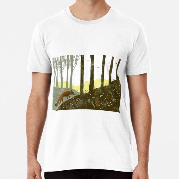 A Fox on the Trail Premium T-Shirt