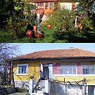 Now & Then, Rai Cottage, Barda by Dennis Melling