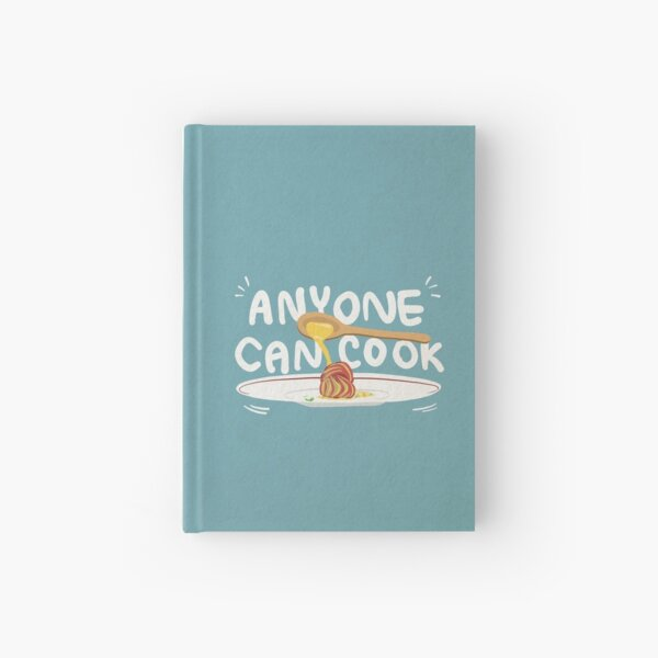 Anyone Can Cook Ratatouille Illustration Hardcover Journal