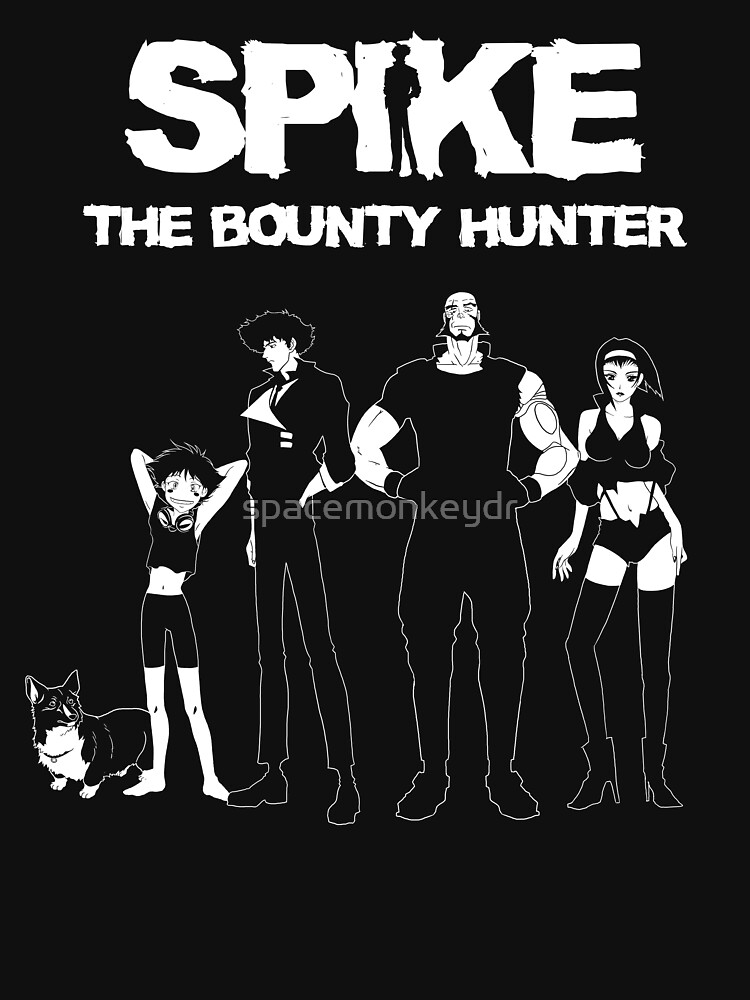 Spike the Bounty Hunter- Cowboy Bebop Shirt by spacemonkeydr