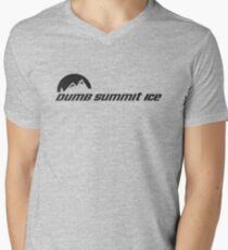 Dumb... Summit Ice Men's V-Neck T-Shirt