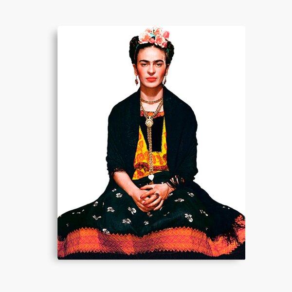Portrait de Frida Kahlo Impression sur toile