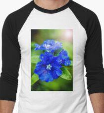 Evolvulus Blue Eyes Baseball ¾ Sleeve T-Shirt