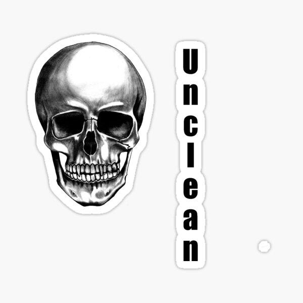 Unclean Sticker