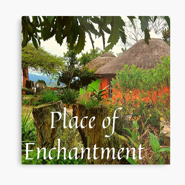 Place of Enchantment Metal Print