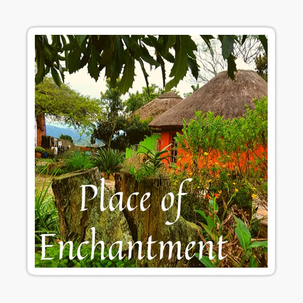 Place of Enchantment Sticker