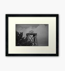 Inactive Landmark Framed Print