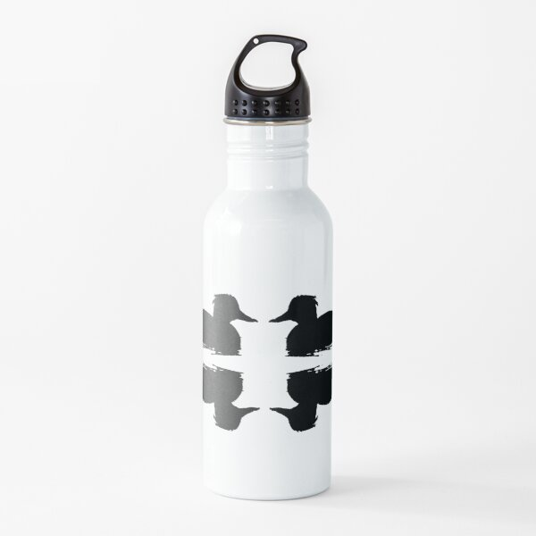 Duo of Tufted Ducks Water Bottle