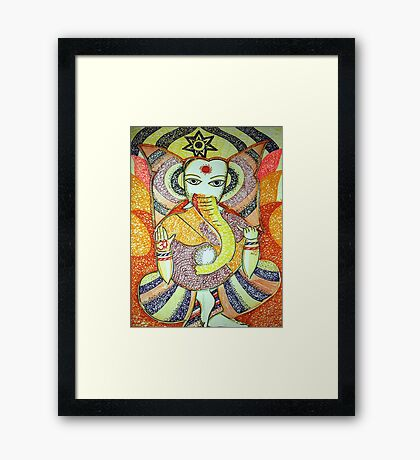 Ganapati (the Lord) Framed Print