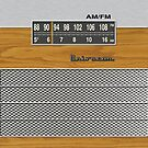 Transistor Radio - 70's Dual Band Woodgrain by ubiquitoid
