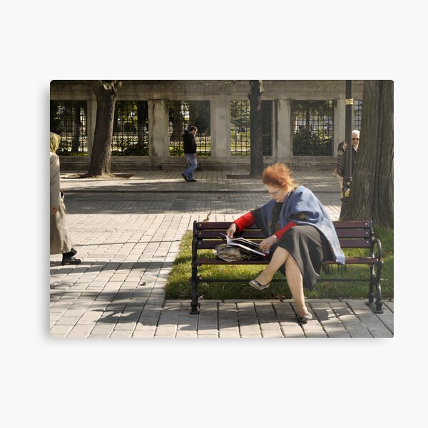 People in Istanbul - The new book Metal Print