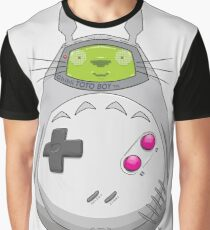 Game Boy Totoro Graphic T-Shirt