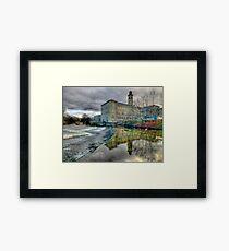 Salts Mill - HDR Framed Print