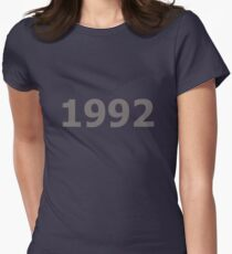 DOB - 1992 Women's Fitted T-Shirt