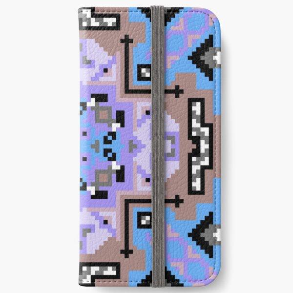 Icy Ardor Weavers Core iPhone Wallet