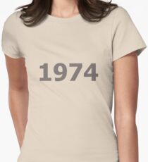 DOB - 1974 Women's Fitted T-Shirt