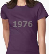 DOB - 1976 Women's Fitted T-Shirt