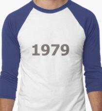 DOB - 1979 Men's Baseball ¾ T-Shirt