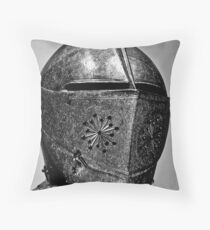 Gilt armour King Charles 1.White Tower,Tower of London Throw Pillow
