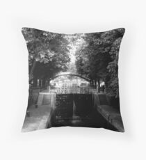 Opening the Lock Throw Pillow