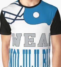 I Wear Blue on Sundays (Detroit) Graphic T-Shirt
