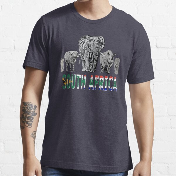 Africa's Big 5 for South Africa Wildlife Fans Essential T-Shirt