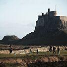Holy Island - Holy Island, Northumberland by Carl Eyre