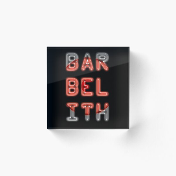 BAR BEL ITH Acrylic Block