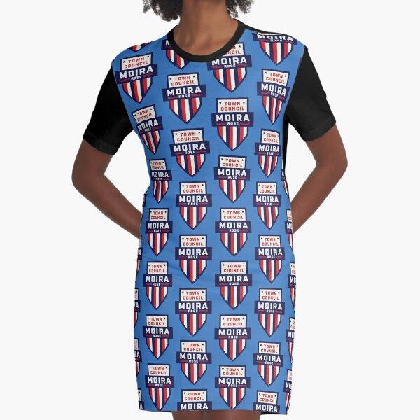 Moira Rose Town Council Political Vote Schitt's Creek Graphic T-Shirt Dress