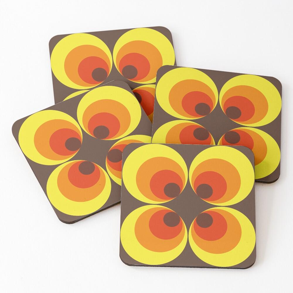 70s Coasters (Set of 4)