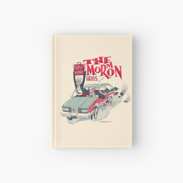 The Mor (m) on Bros Hardcover Journal